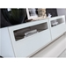 Court White Lacquer + Clear Glass Modern TV Stand