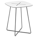 Craig Tall Anthracite Modern End Table