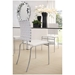 Clipper Modern Dining Char in White