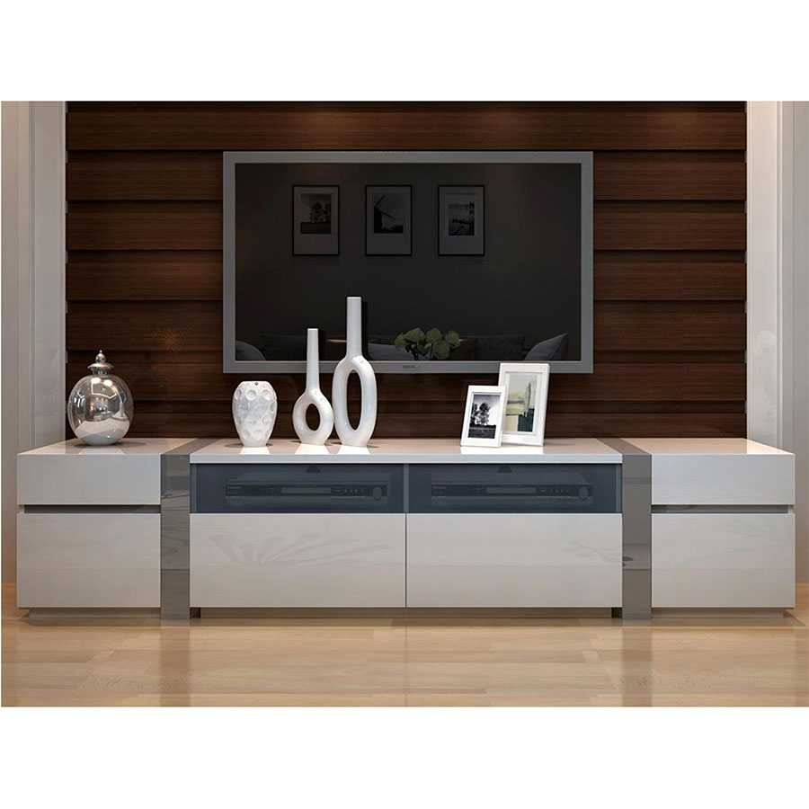 Cristiano Large Modern Entertainment Center Eurway