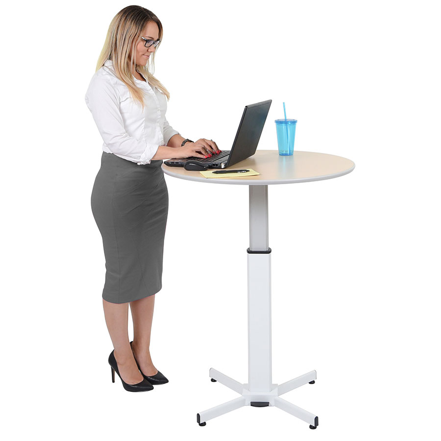 Cupertino Modern Adjustable Height Work Table Eurway