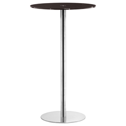 Cyclone Modern Espresso Bar Height Table