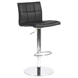 Cyd Modern Black Adjustable Stool