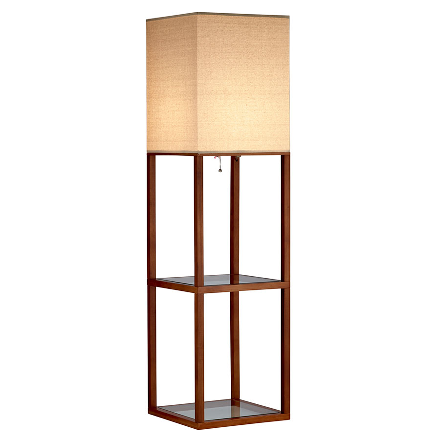 Cyrus Modern Shelf Floor Lamp