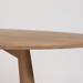 Dabney Walnut Contemporary Dining Table Detail