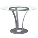 Dalia Modern Dining Table by Amisco
