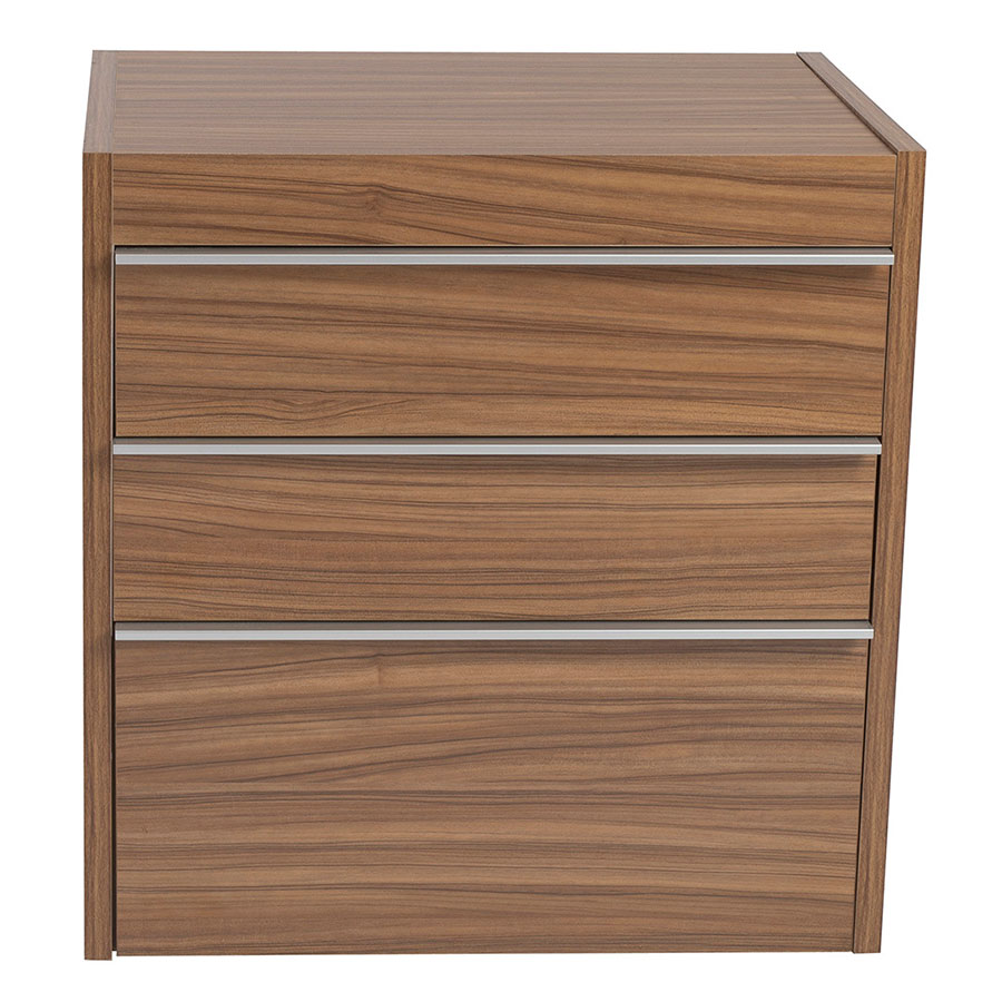 dalton modern walnut convertible desk  file  eurway -  dalton modern convertible lateral file