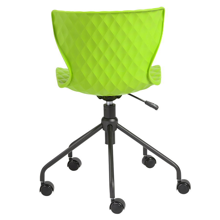 modern office chairs  daly green task chair  eurway -  daly green polypropylene modern task chair