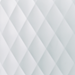 Daly White Quilted Polypropylene Swatch