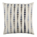"Danette 20"" Denim Modern Pillow"