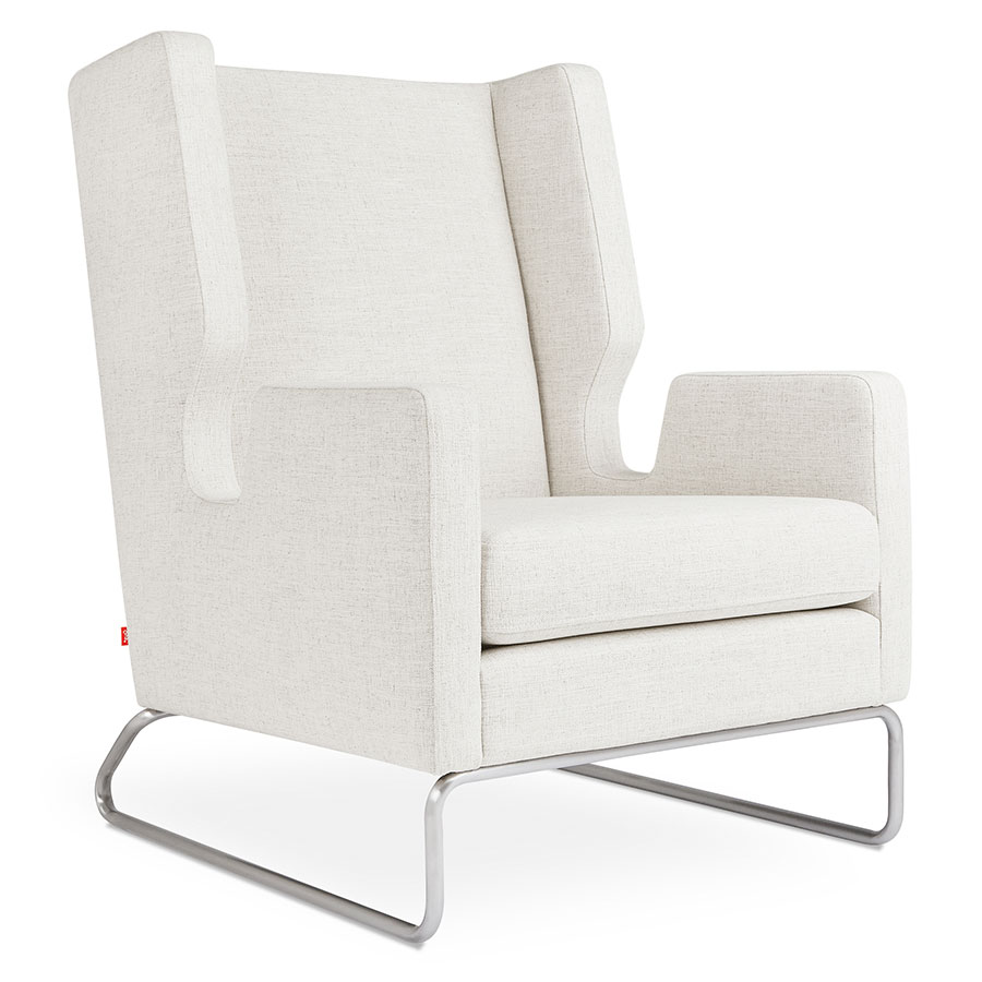 Danforth Modern Chair In Huron Ivory By Gus Modern Eurway