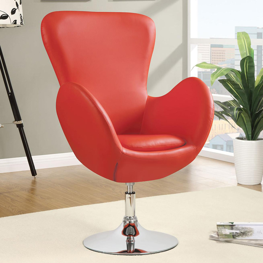 red swivel chairs for living room modern chairs dansk swivel chair eurway furniture 25719