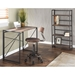 Dante Industrial Wood and Metal Desk
