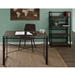 Dante Industrial Modern Wood and Metal Desk