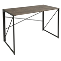 Dante Modern Industrial Wood + Metal Desk