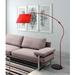 Darian Red Modern Floor Lamp