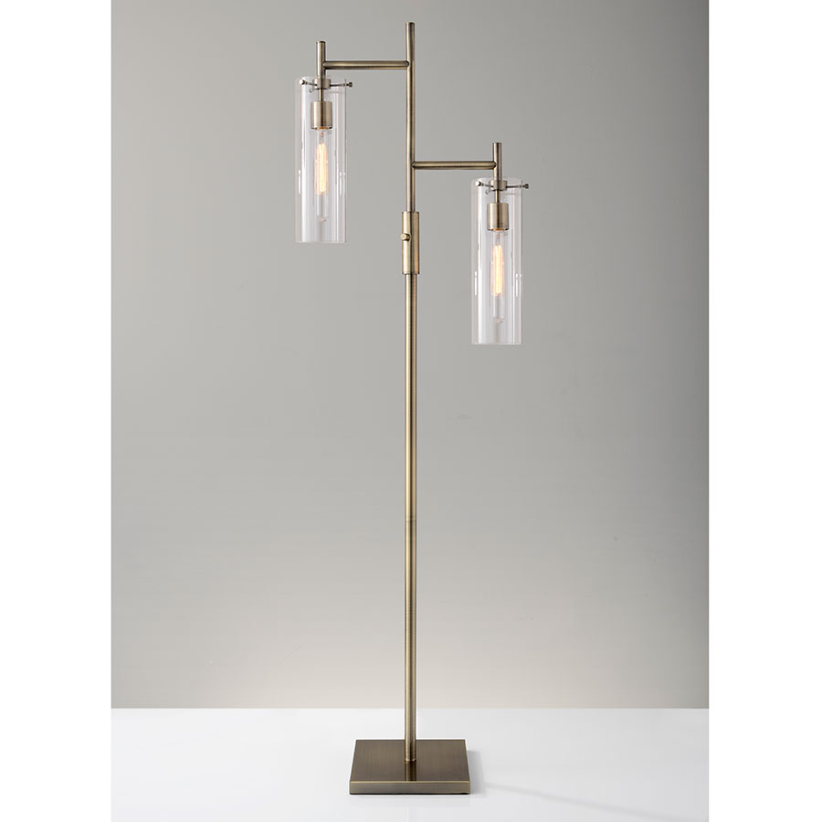 dartmouth brass floor lamp