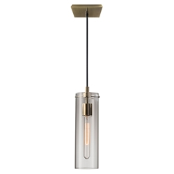 Dartmouth Modern Brass Pendant Lamp
