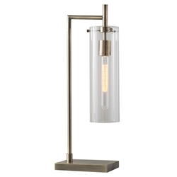 Dartmouth Modern Brass Table Lamp