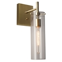 Dartmouth Modern Brass Wall Sconce