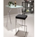 Darwen Contemporary Black Bar Stool by Zuo