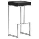 Darwen Modern Black Bar Stool by Zuo