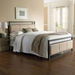 Dauphine Contemporary Metal Bed