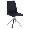 Davey Black Modern Dining Chair