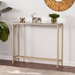Davidson Console Table - Gold + Mirrored