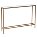Davidson Gold + Mirrored Console Table