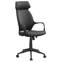 Decatur Modern Black High Back Office Chair