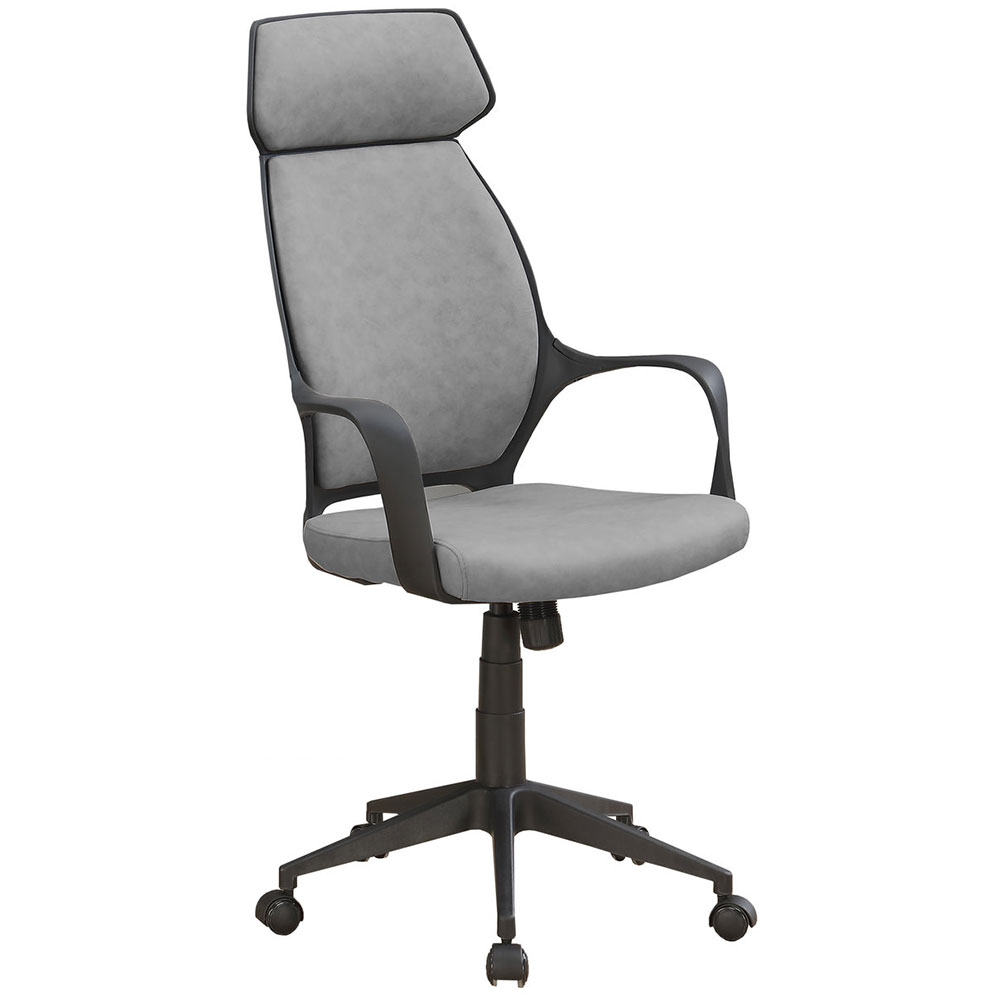 Decatur Modern Gray High Back Office Chair