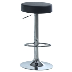 Decklyn Modern Black Adjustable Stool