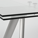 Delano Contemporary Extension Table Detail