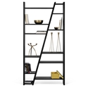 Delta Double Black Bookcase by TemaHome