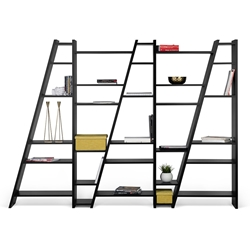 Delta Black Wall Unit by TemaHome