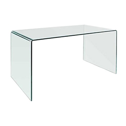 Modern Desks - Denmark Modern Glass Desk