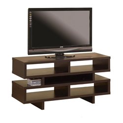Modern Entertainment Centers - Derby Cappuccino TV Stand