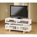 Derby Modern White TV Media Stand