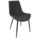 Derrick Modern Grey Dining Chair