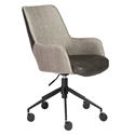 Desi Modern Gray Office Chair