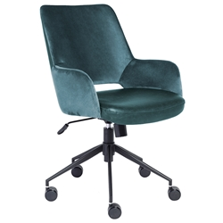 Desi Modern Blue Office Chair