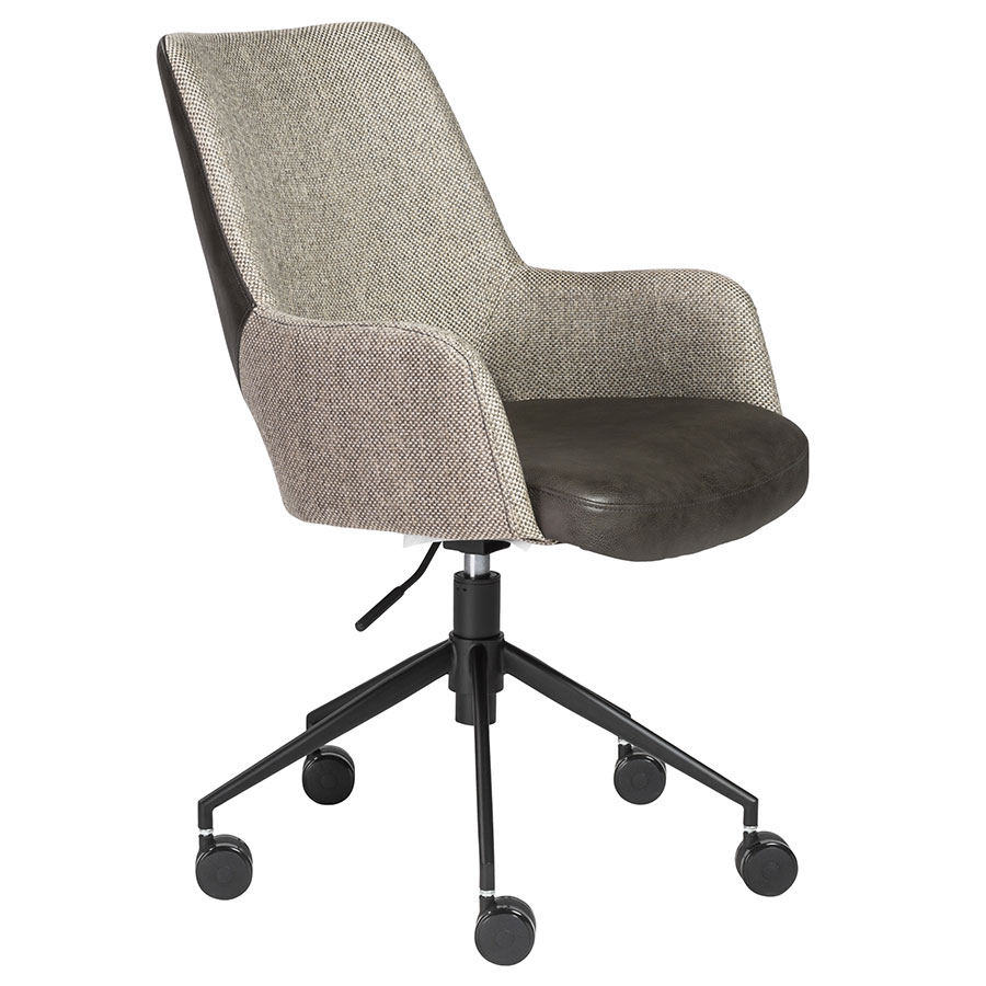 Modern Office Chairs Desi Brown Office Chair Eurway