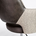 Desara Modern Gray Tilting Office Chair - Stitch Detail