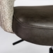 Desara Modern Gray Tilting Office Chair - Seat Detail