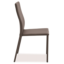 Diana Taupe Modern Dining Side Chair by Pezzan