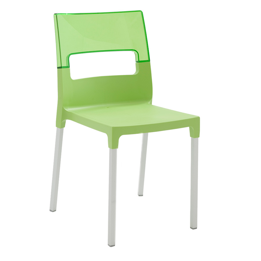 Call To Order · Diva Green Modern Side Chair