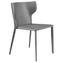 Divinia Modern Gray Stacking Chair by Euro Style