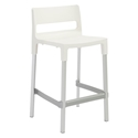 Divo-C Modern Outdoor Counter Stool in Linen