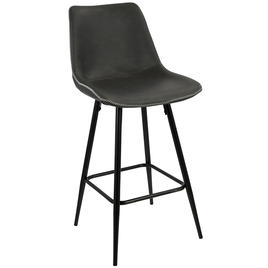 Donovan Modern Gray Counter Stool  sc 1 st  Eurway & Modern Counter Stools | Donovan Gray Counter Stool | Eurway islam-shia.org